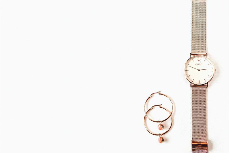 creaolen-ohrringe-uhr-rosegold-qudo